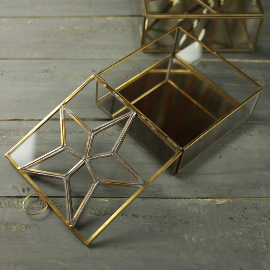 Image of Bequai Star Box - Antique Brass - Small