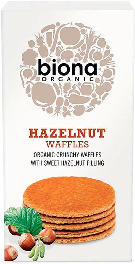 Biona Hazelnut Syrup Waffles - 175g.