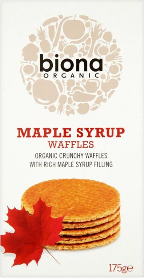 Biona Maple Syrup Waffles - 175g.