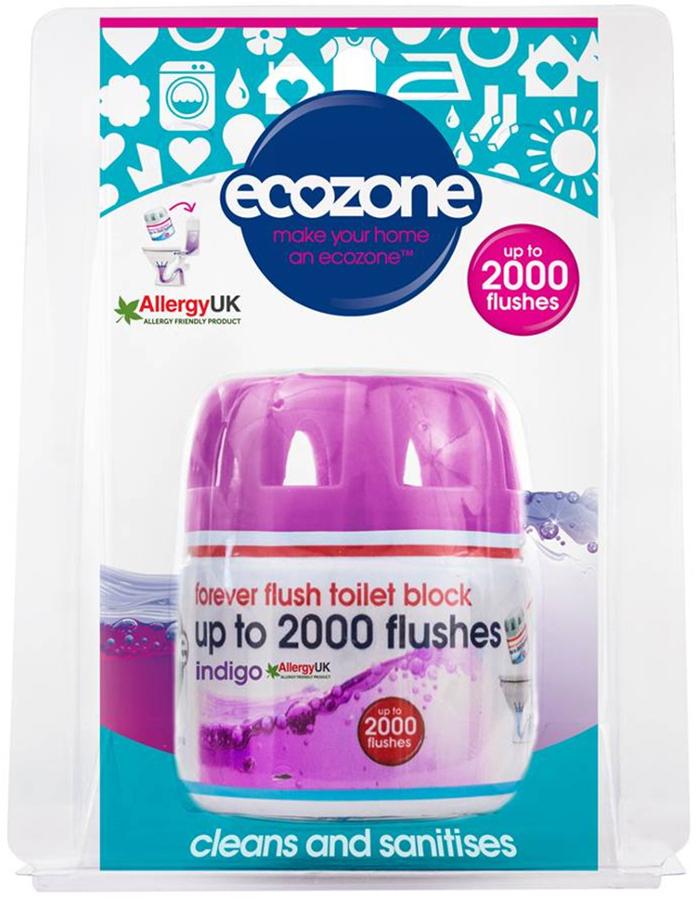 Ecozone Forever Flush Toilet Block - Indigo - 2000 Flushes