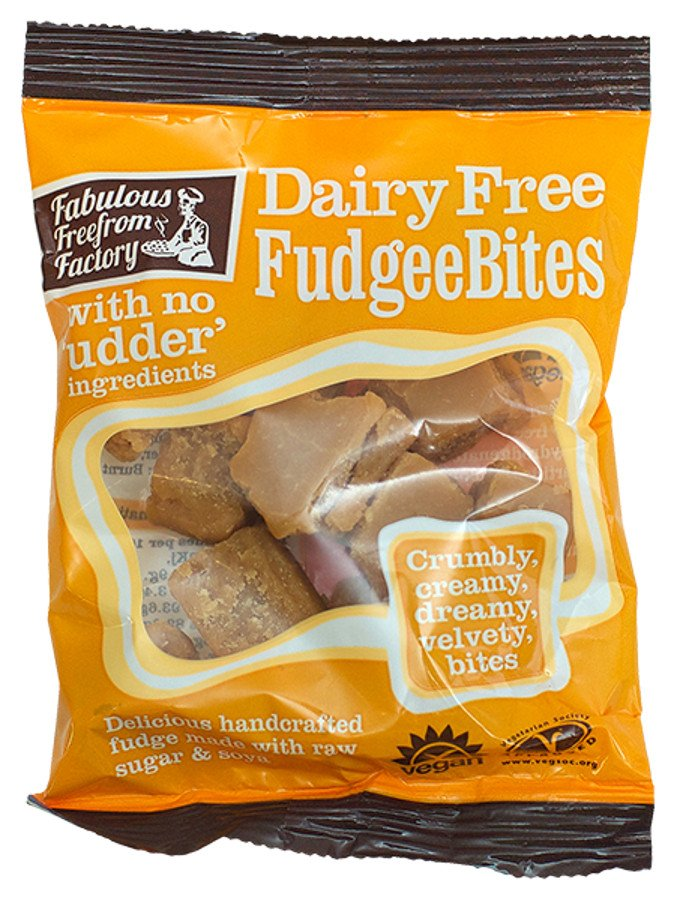 Fabulous Free From Factory Dairy Free Fudgee Bites - 75g