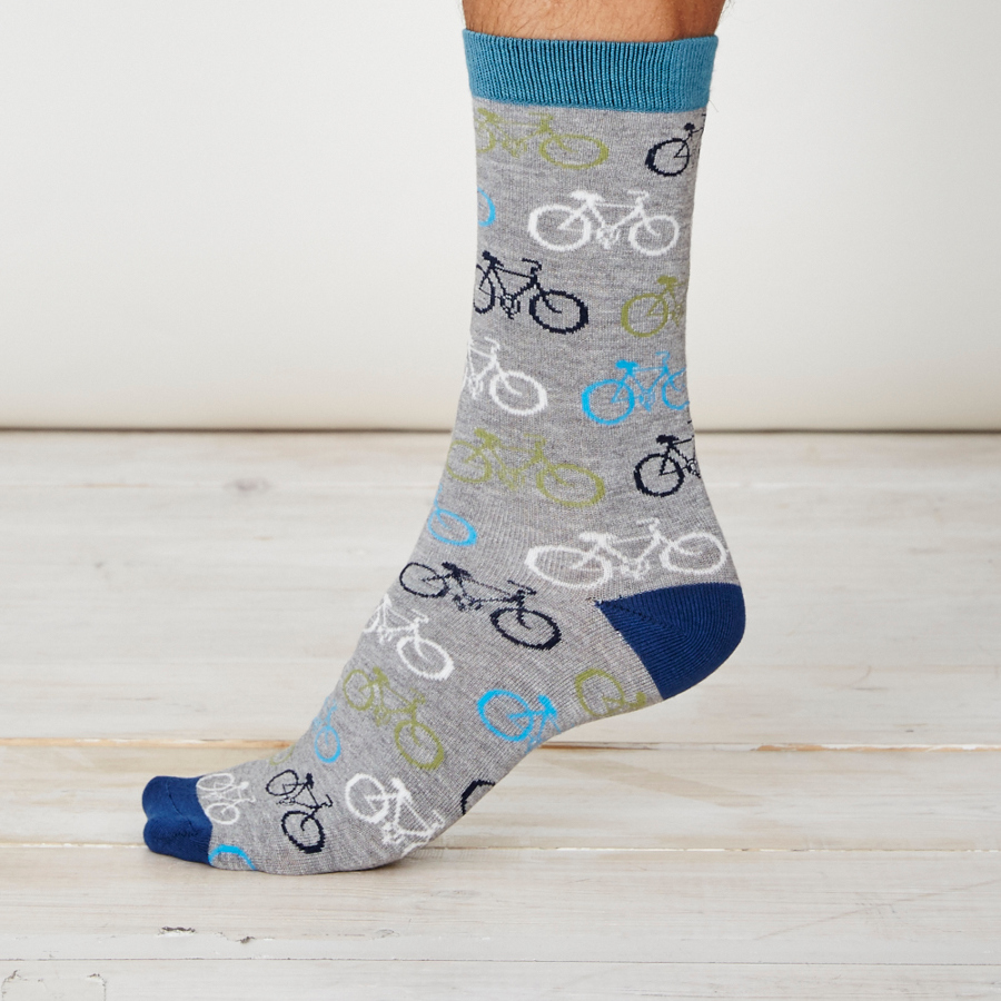 Thought Cycler Bamboo Socks.
