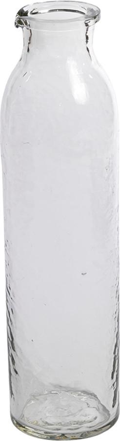 Hammered Glass Chandi Carafe at Natural Collection