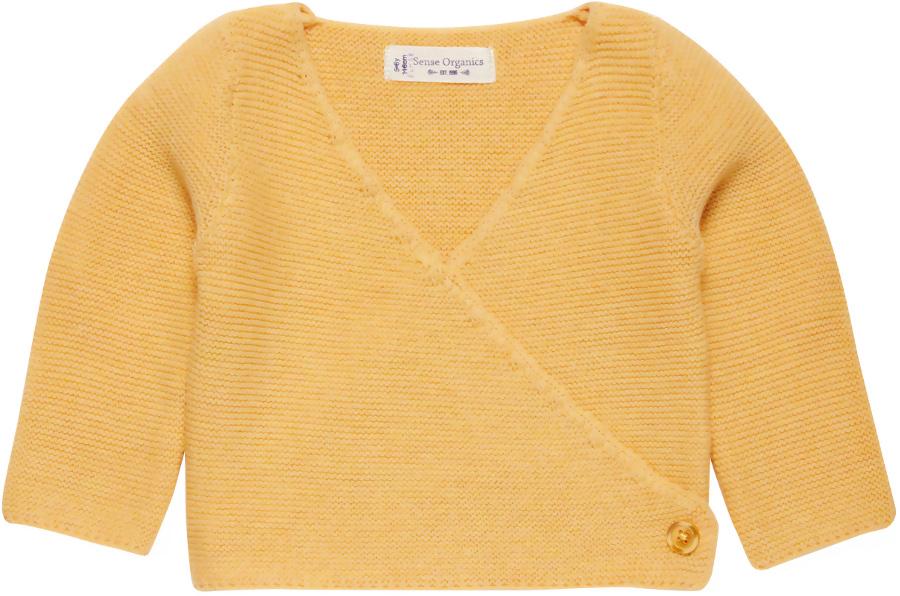 Sense Organics Picasso Baby Wrap Jacket - Warm Yellow.