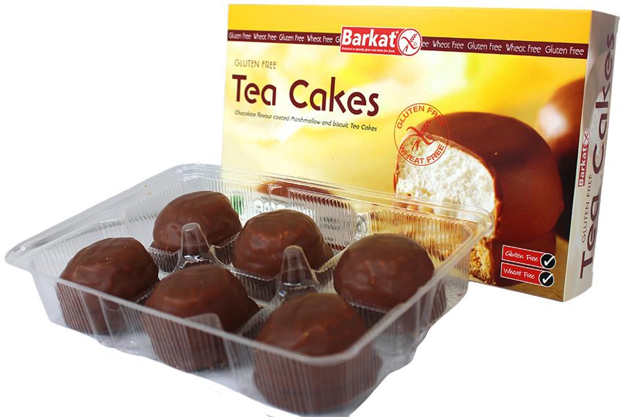 Barkat Gluten Free Tea Cakes G