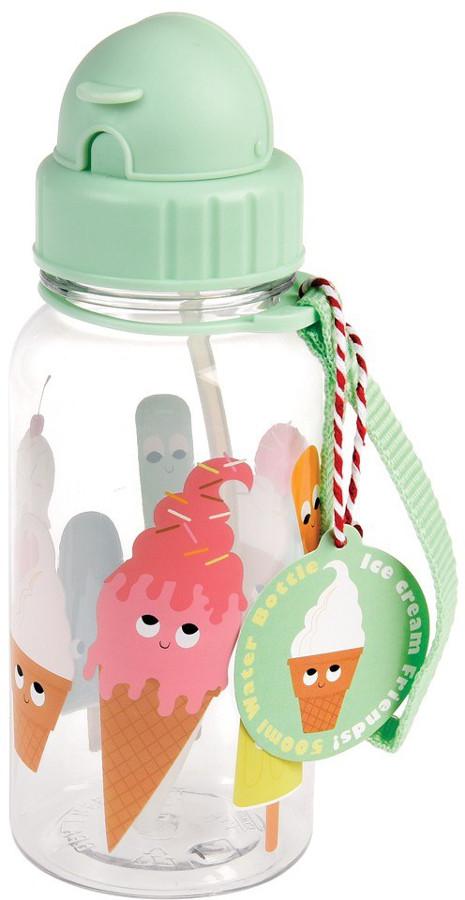 Ice Cream Friends BPA Free Children's Water Bottle - 500ml.