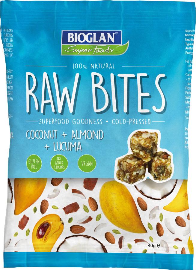 BioGlan Raw Bites - Coconut & Lucuma - 40g.
