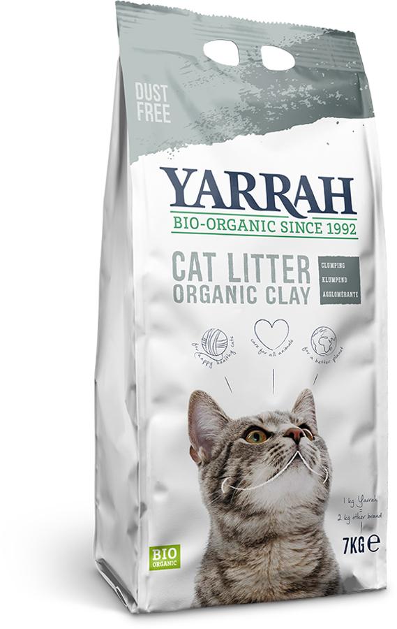 Yarrah Organic Clay Cat Litter - 7kg