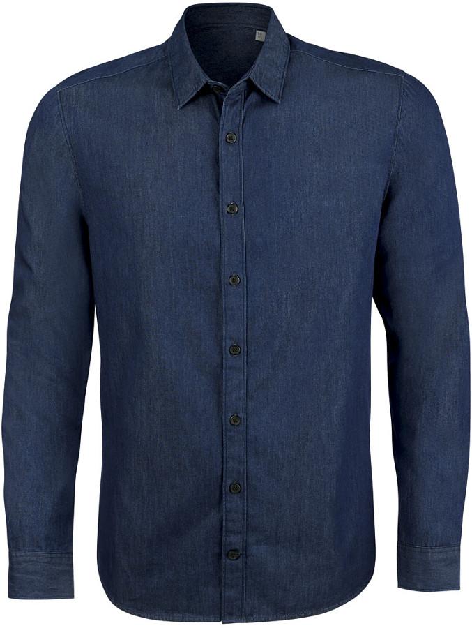 Organic Cotton Denim shirt.
