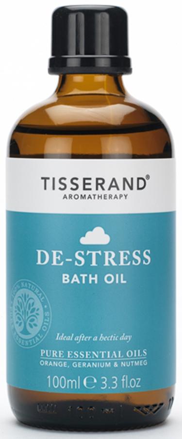 Tisserand De-Stress Bath Oil - 100ml.