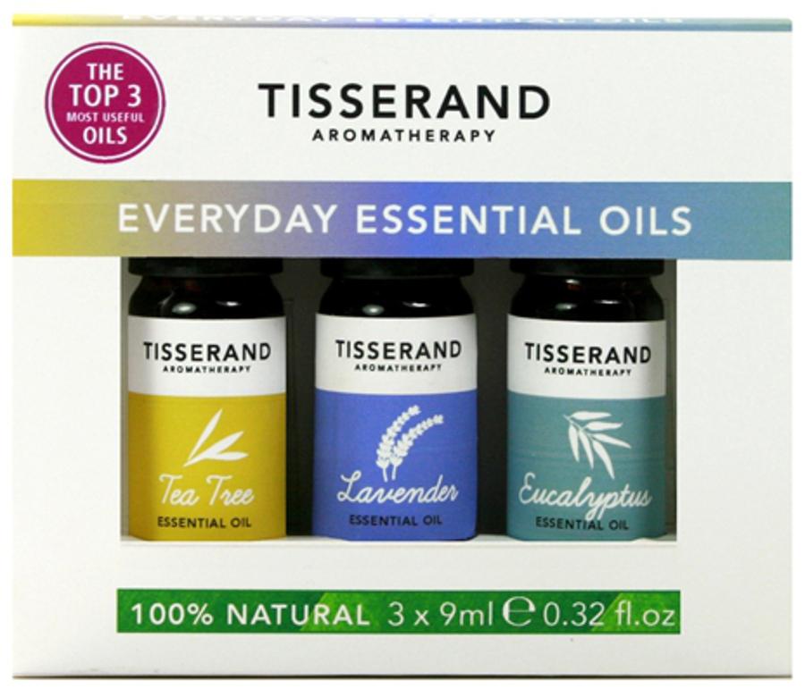 Tisserand Everyday Essential Oils Kit - 3x9ml.