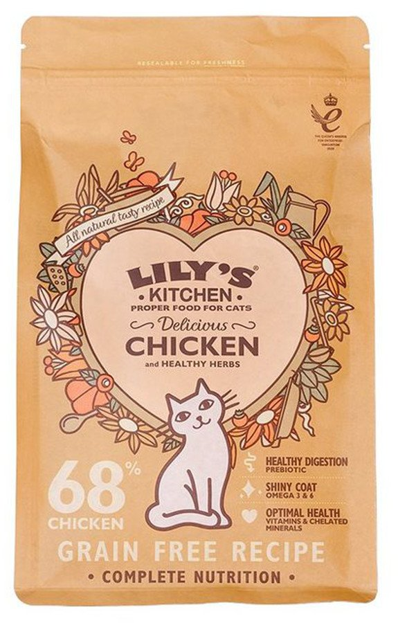 Lily's Kitchen Delicious Chicken Dry Cat Food - 800g