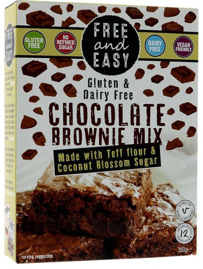 Free & Easy Chocolate Brownie Mix - 350g