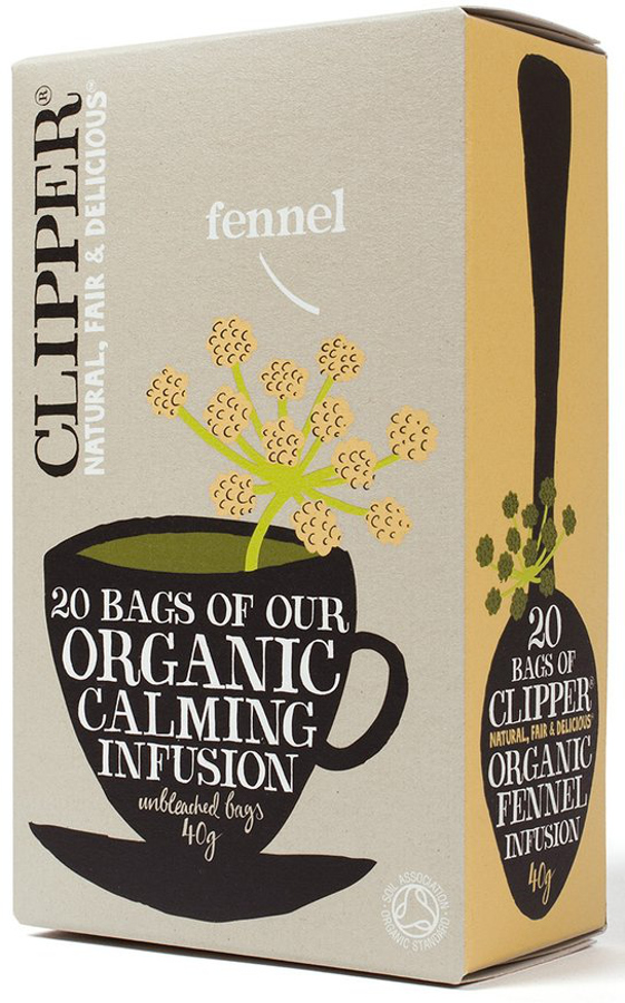 Clipper Organic Fennel Tea - 20 Bags