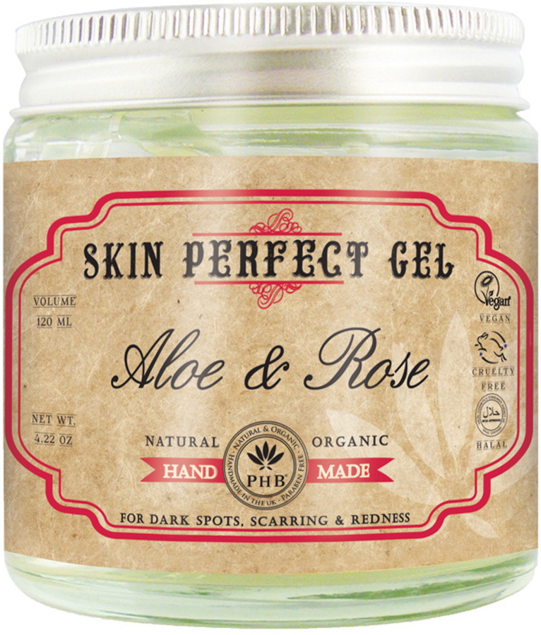 PHB Ethical Beauty Skin Perfect Gel with Aloe & Rose - 120ml.