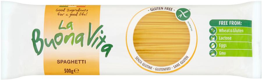 La Buona Vita Gluten Free Spaghetti - 500g
