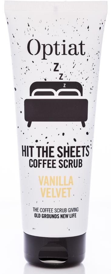 Optiat Vanilla Velvet Coffee Scrub - 220g.