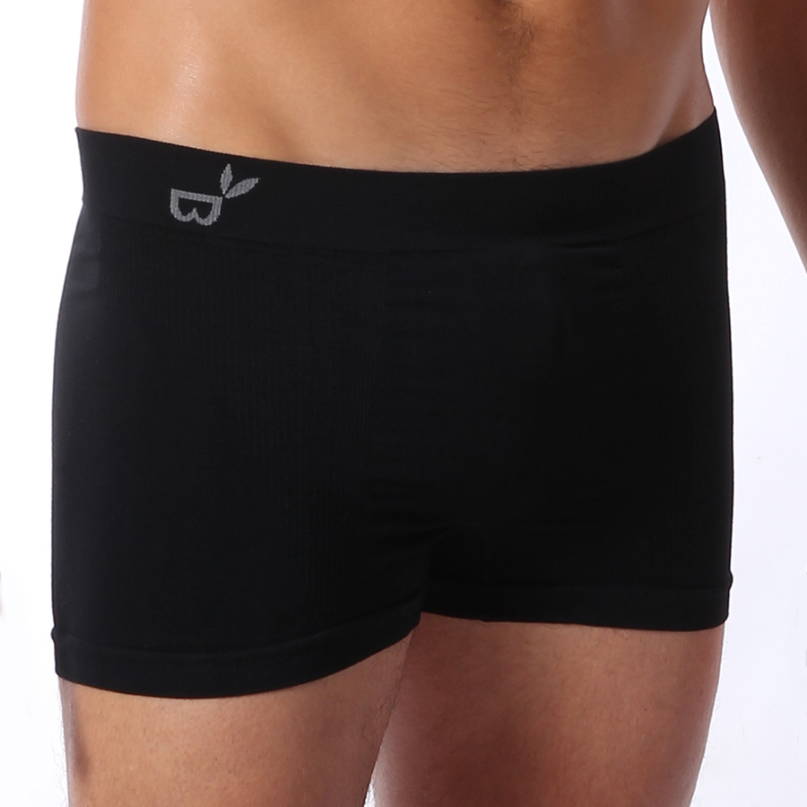 Boody Mens Bamboo Boxers - Black