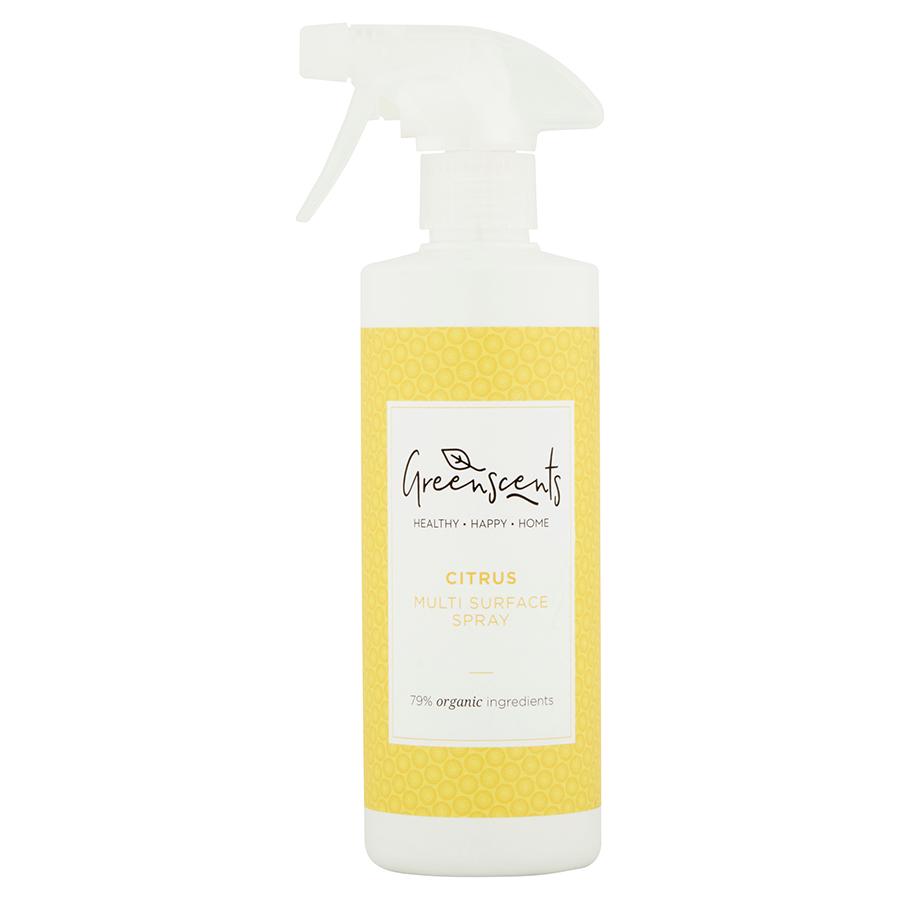Greenscents Organic Surface Spray - Citrus - 500ml