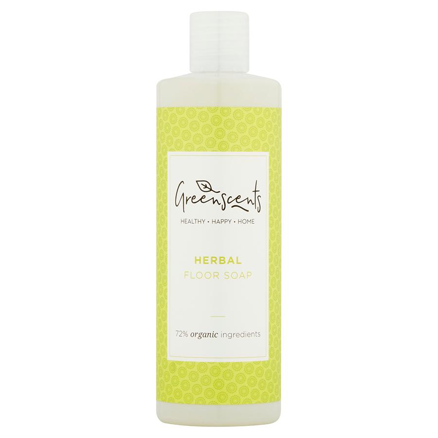 Greenscents Organic Floor Soap - Herbal - 400ml