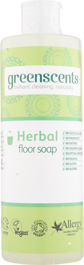Greenscents Floor Soap - Herbal - 400ml