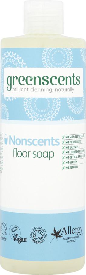Greenscents Floor Soap - Unscented - 400ml