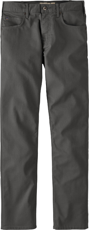 Patagonia Mens Performance Regular Fit Twill Jeans - Forge Grey