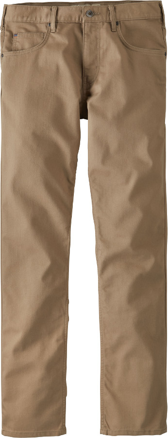 Patagonia Mens Performance Regular Fit Twill Jeans - Mojave Khaki