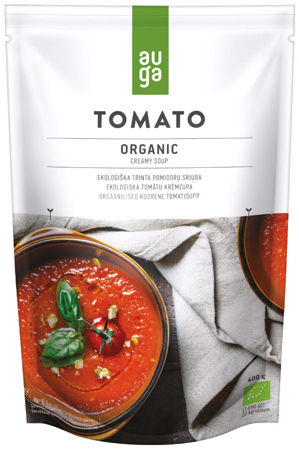 Auga Organic Creamy Tomato Soup - 400g.