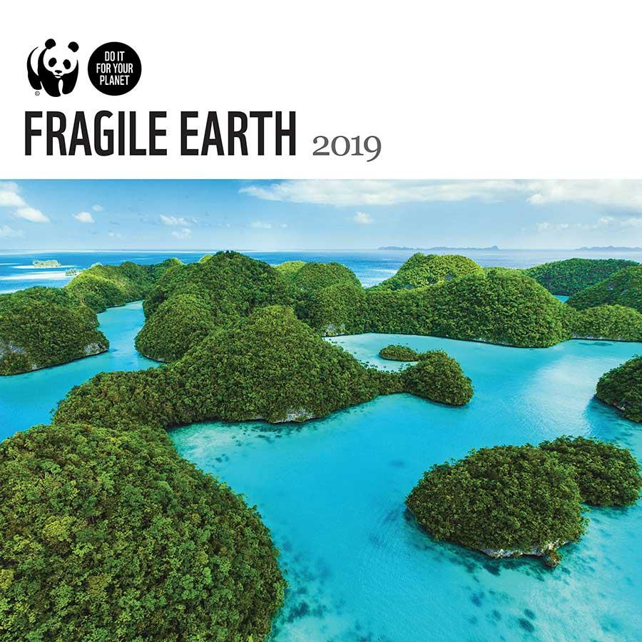 WWF Fragile Earth 2019 Wall Calendar