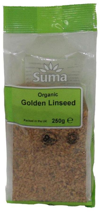 Suma Prepacks Organic Golden Linseed 250g