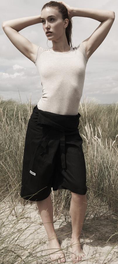 Marzipants Capri Shorts - Black
