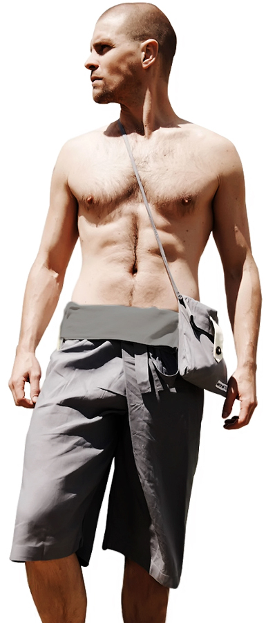 Marzipants Capri Shorts - Grey