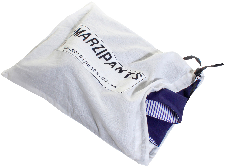 Marzipants Capri Shorts - Limited Edition Blue