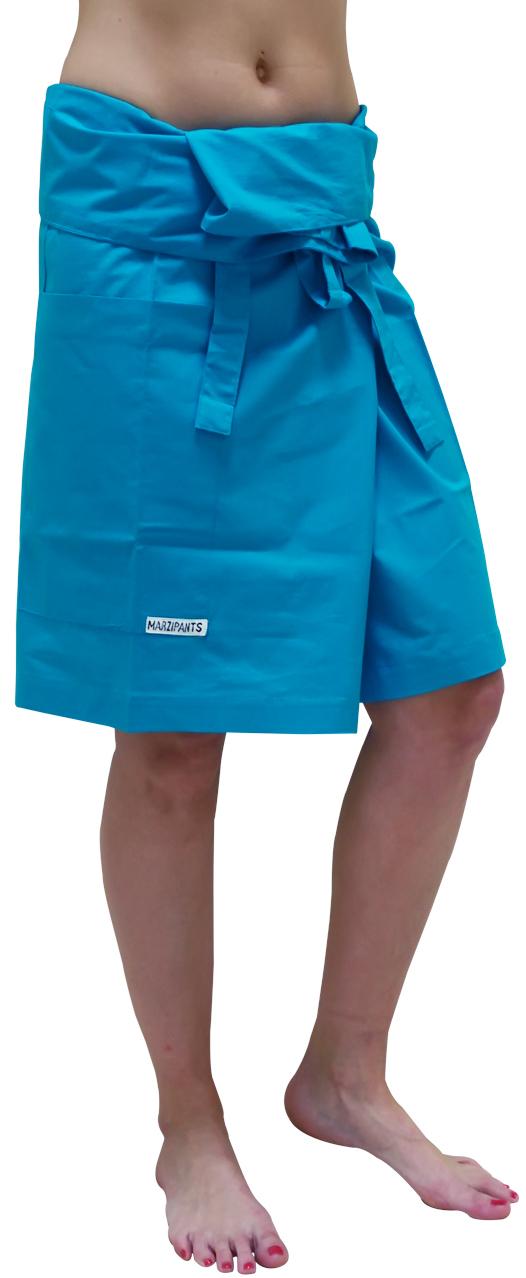 Marzipants Capri Shorts - Turquoise