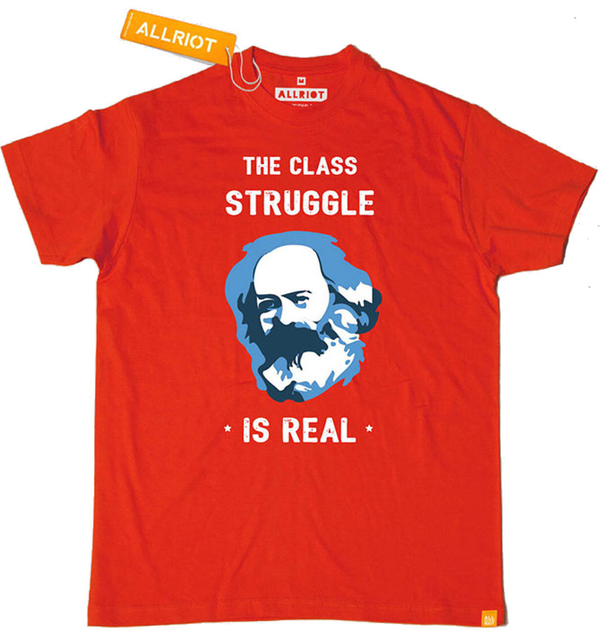 All Riot 'Class Struggle is Real' T-Shirt