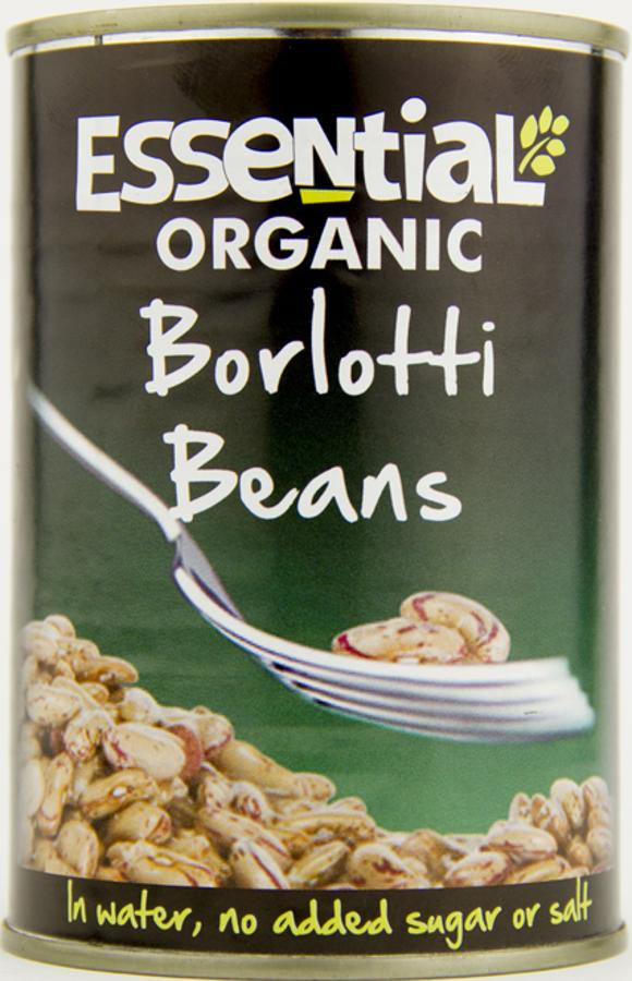 Essential Trading Borlotti Beans - 400g