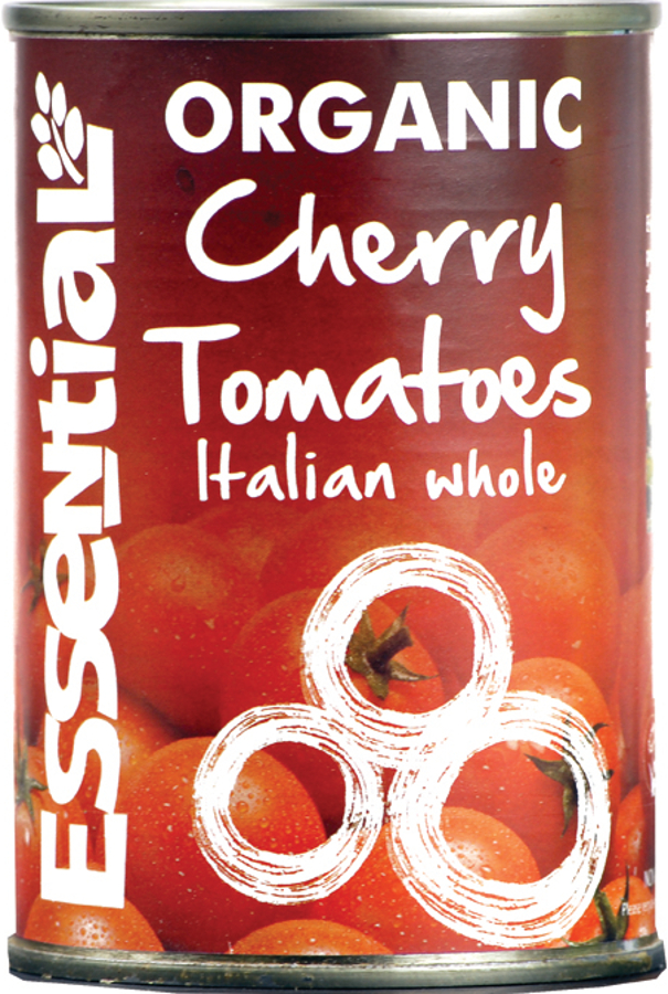 Essential Trading Cherry Tomatoes Tinned Whole - 400g