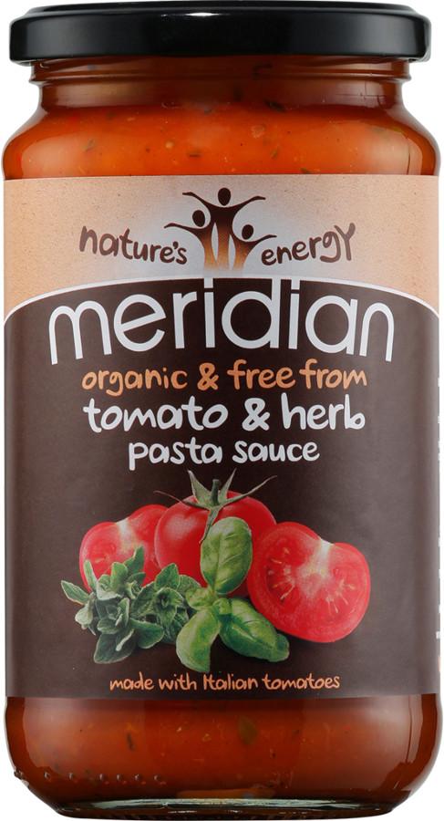 Meridian Organic Herb & Tomato Pasta Sauce 440g.