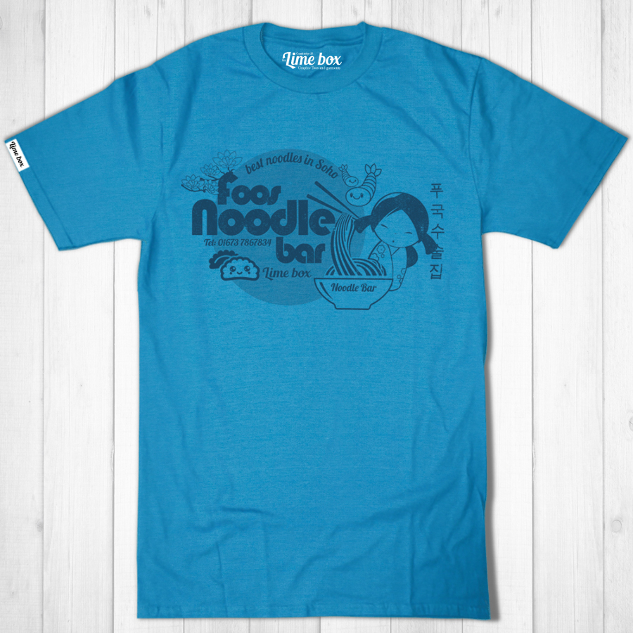 Men's Foos Noodle Bar Recycled T-Shirt