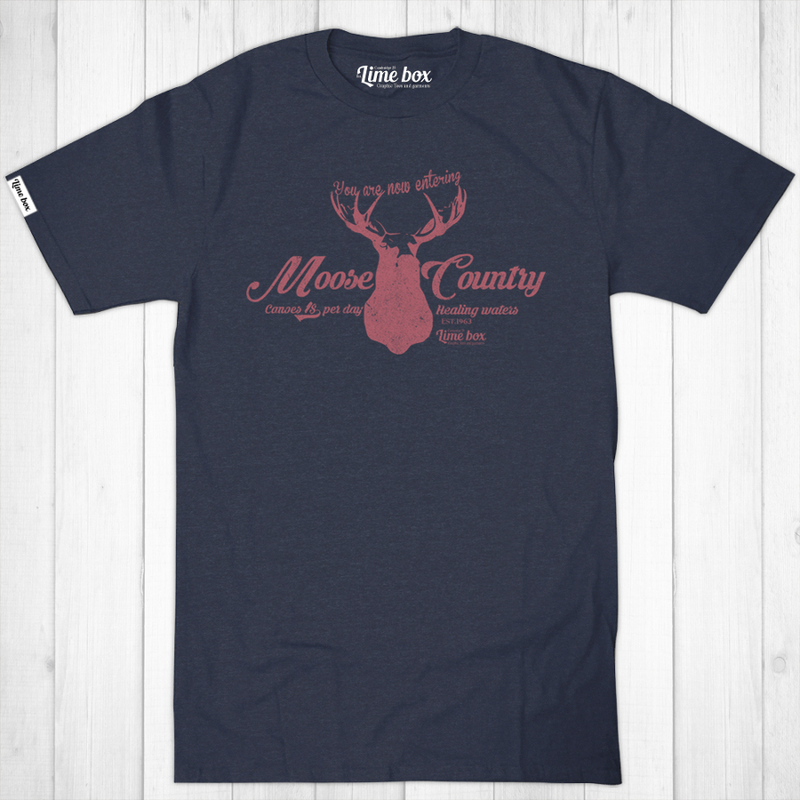 Men's Moose Country Recycled T-Shirt