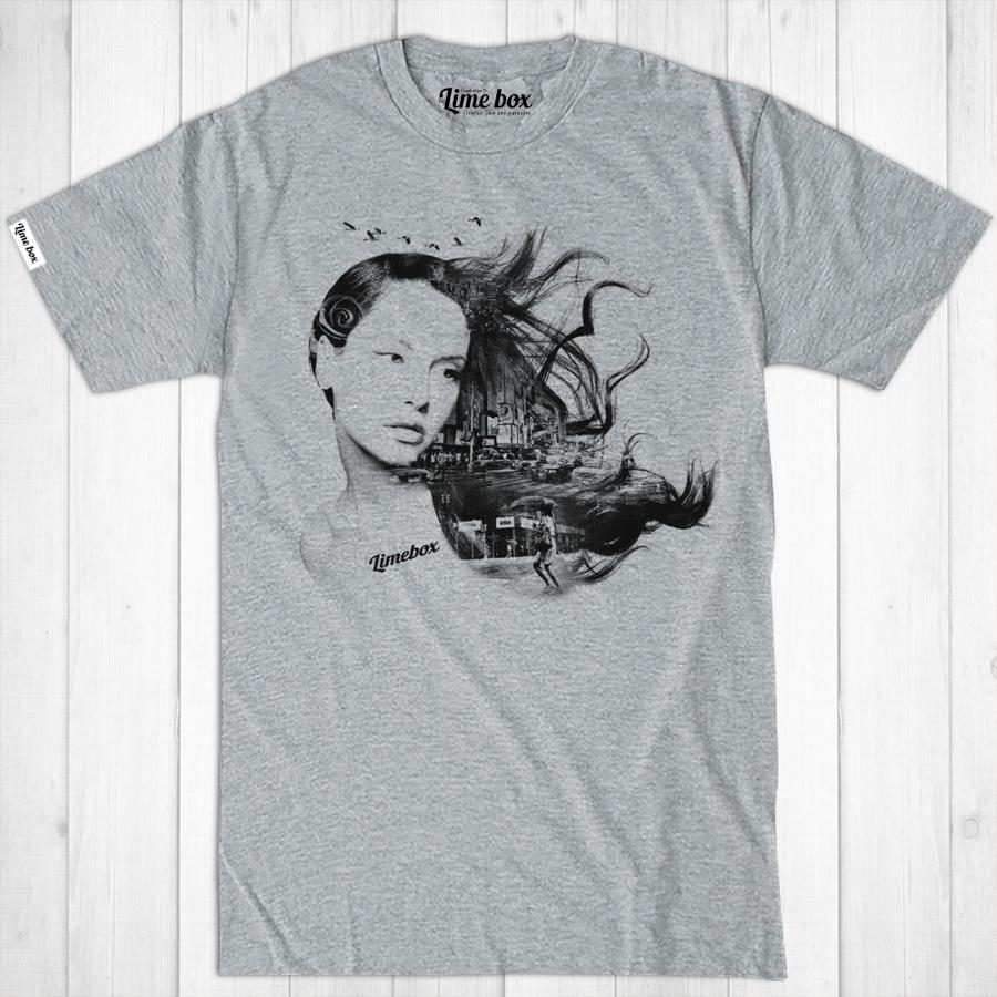 Men's New York Girl Fair Wear Cotton T-Shirt