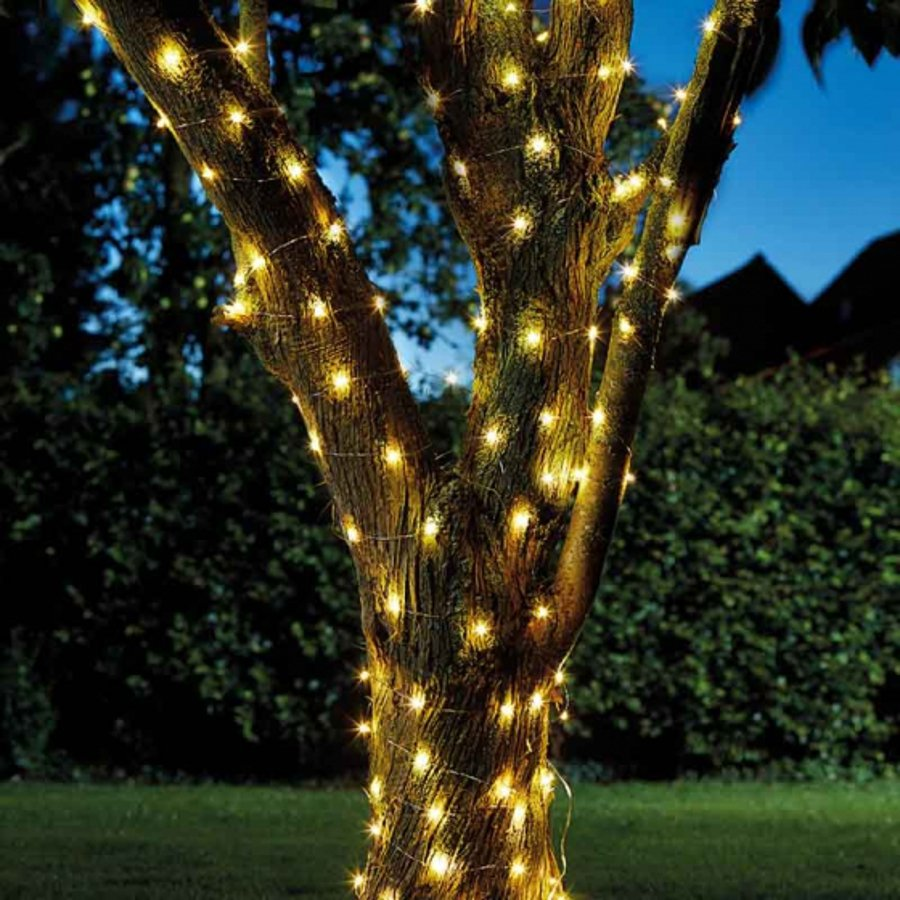 Smart Garden Solar Powered Firefly String Lights 100