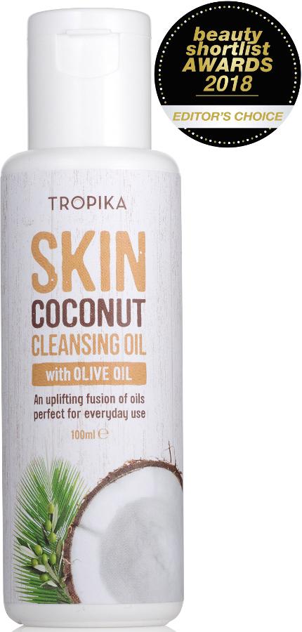 Tropika 100% Natural Nourishing Coconut Cleansing Oil - 100ml