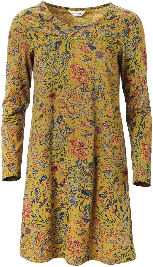 Nomads Amara Tunic Dress - Ochre