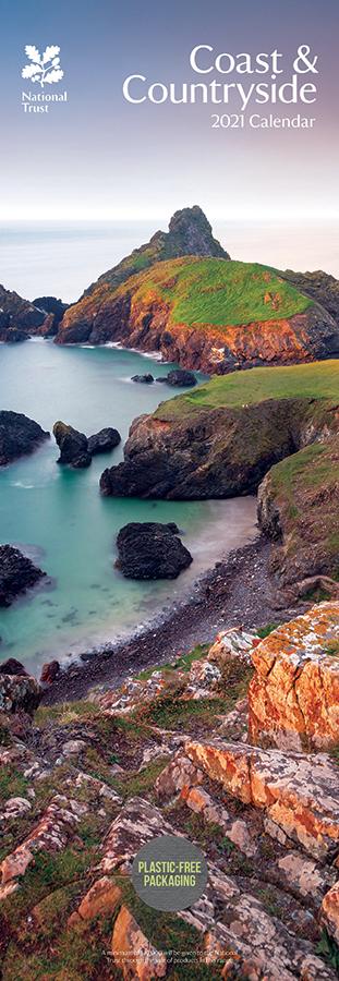 National Trust 'Coast & Countryside' 2021 Slim Calendar