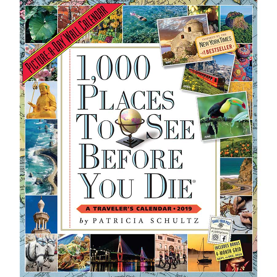 Image of 1 000 Places to See Before You Die 2019 Wall Calendar