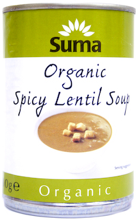 Suma Organic Spicy Lentil Soup 400g at Natural Collection