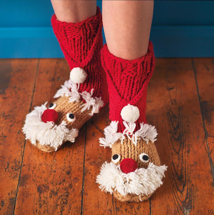 Christmas Santa Socks