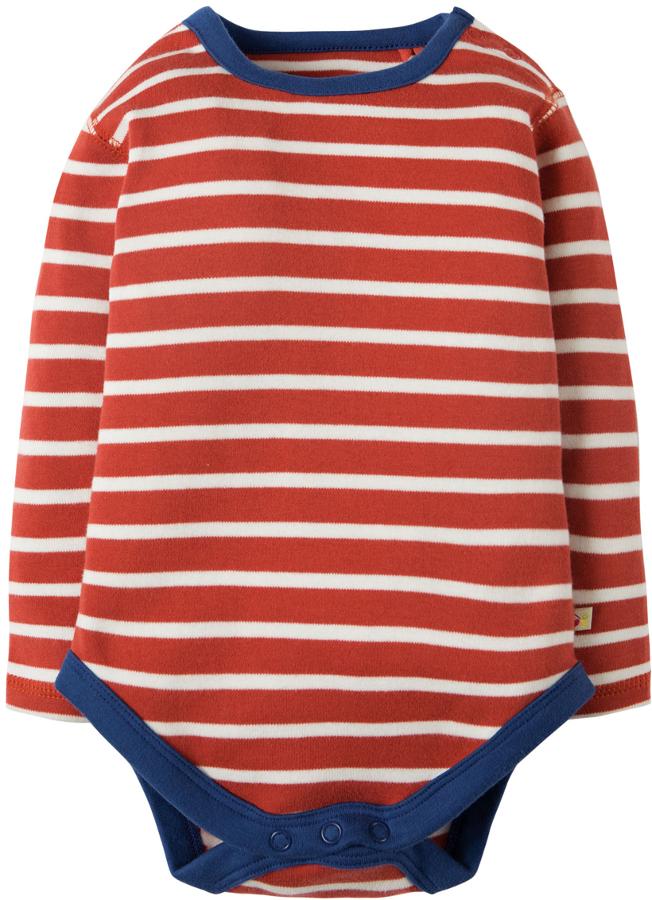 c2761235d1473 Frugi Billy Breton Stripe Baby Body - Pack of 2 - Frugi